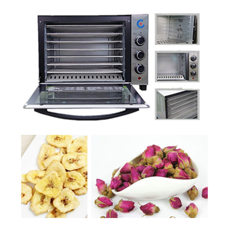 Stainless steel food dehydrator fruits vegetable herb drying machine snacks meat dried commercial 7 tiers food dryer 220V 220v multifunction food dehydrator transparent 5 tray electric dried fruit machine fruits vegetable food dryer deshidratado