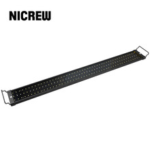 Nicrew Aquarium Fish Tank Lighting LED Light Bar SMD 25W 94-115cm Lamp with Extendable Brackets Fits for