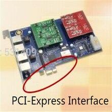 Toptan Yıldız PCI ekspres kart FXS/FXO bağlantı noktası analog ses telefon kartı Yıldız/Trixbox/Elastix/Freeswitch IP PBX