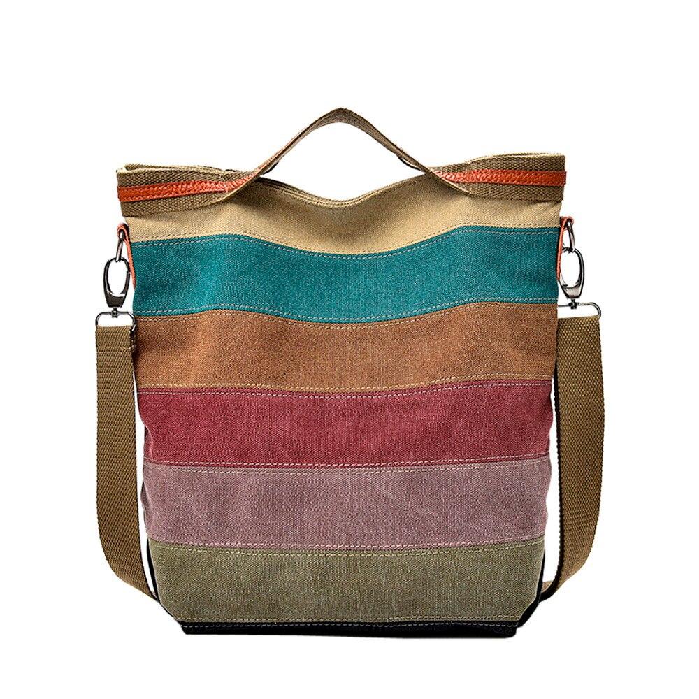 Canvas Cloth Shoulder Bag Crossbody Bags For Messenger Bags Schoolbag Handbag #442