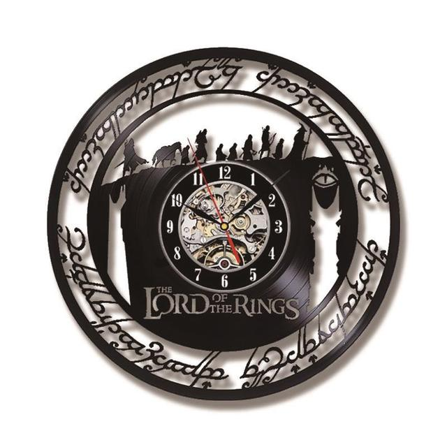 The Lord of the Rings Vinyl Record Wall Clock