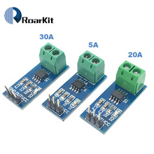Лидер продаж ACS712 5A 20A 30A диапазон зал Текущий сенсор модуль ACS712 модуль для Arduino