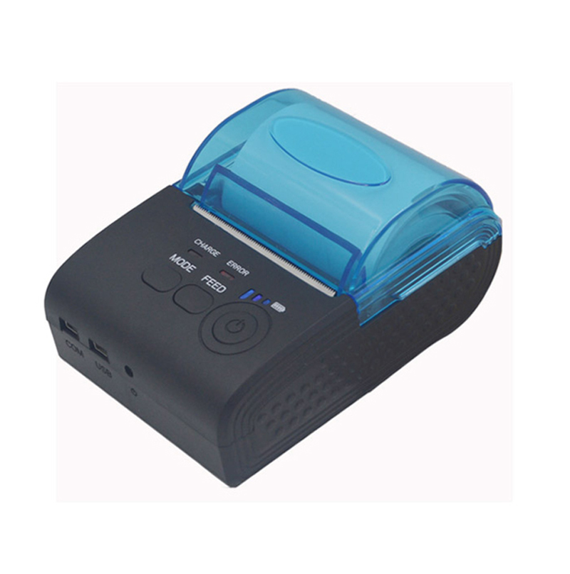 ФОТО 5PCS 58mm Portable Wireless Bluetooth Thermal Printer Receipt Printer for Android mobile Mini POS printer _DHL