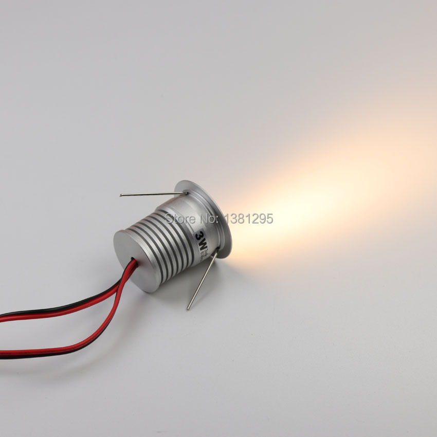 9 pcs/ensemble LED Sous L'éclairage Du Cabinet Dimmable Mini LED Encastré Vitrine Éclairage Sous Comptoir Étagère Meubles Cuisine Lumières 3 w - 5