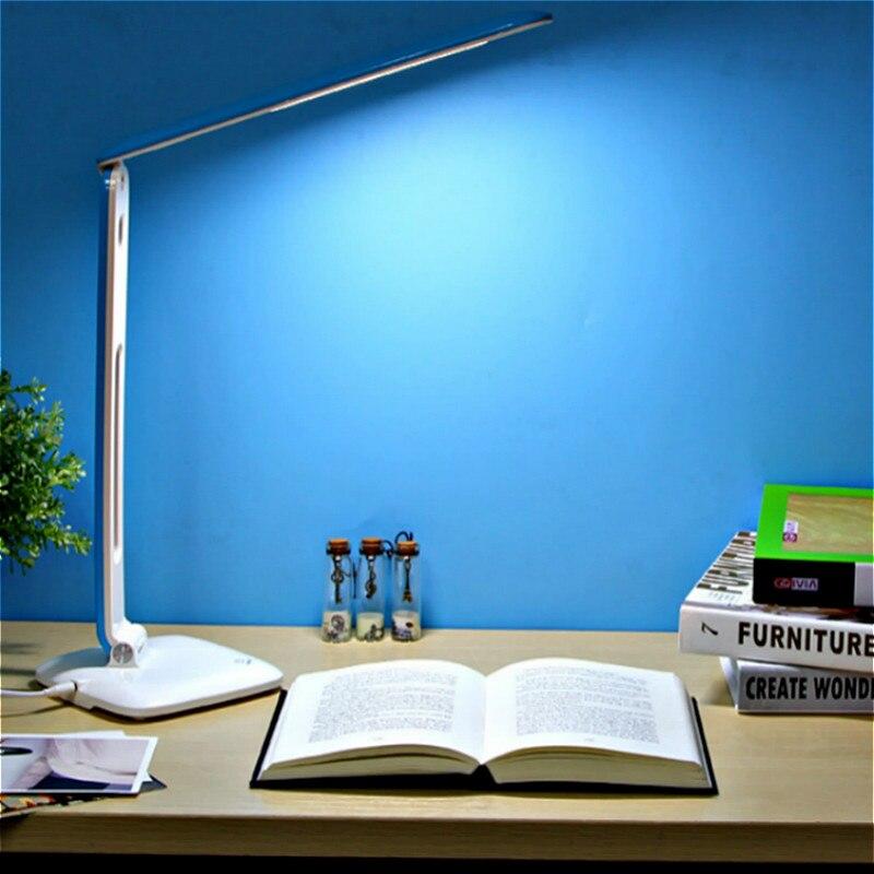 все цены на YAGE 5940 LED Desk Lamp DC 12V/500mAh Night light Non-Limit Brightness Touch adjusted flexibly Table light EU/USA/UK Plug онлайн