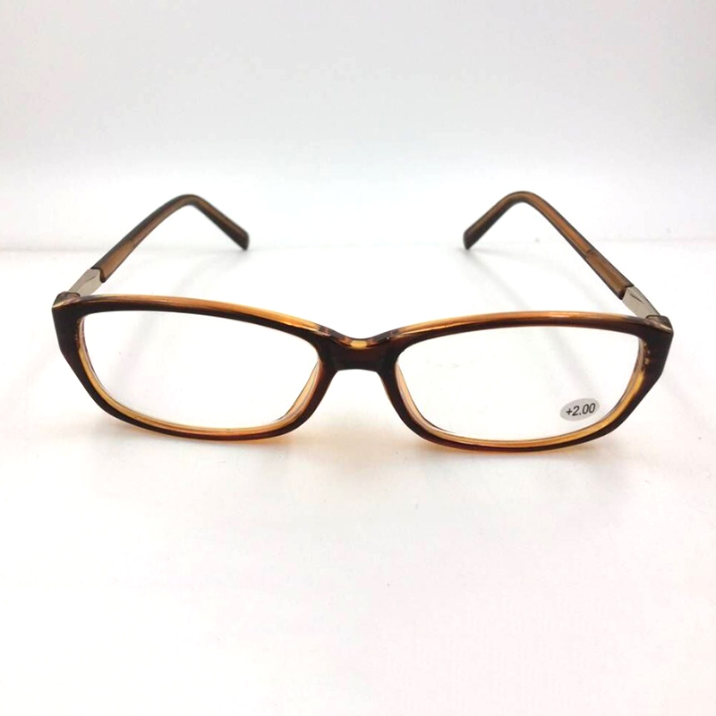 High Quality Women Metal Leopard Reading Glasses Anti Reflection Computer Working Resin Reading Glass Eyewear Diopter 1.00-4.00 reflection