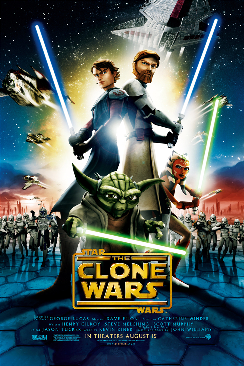 Free Ship The Clone Wars film Customized Retro Canvas Poster PN-154 image