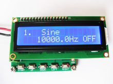 Novo 1pc novo gerador de sinal dds mais forte do que m328 função gerador 0.1hz meter 100khz medidor de freqüência