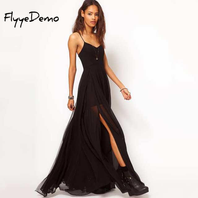 Outfit vestido negro fiesta