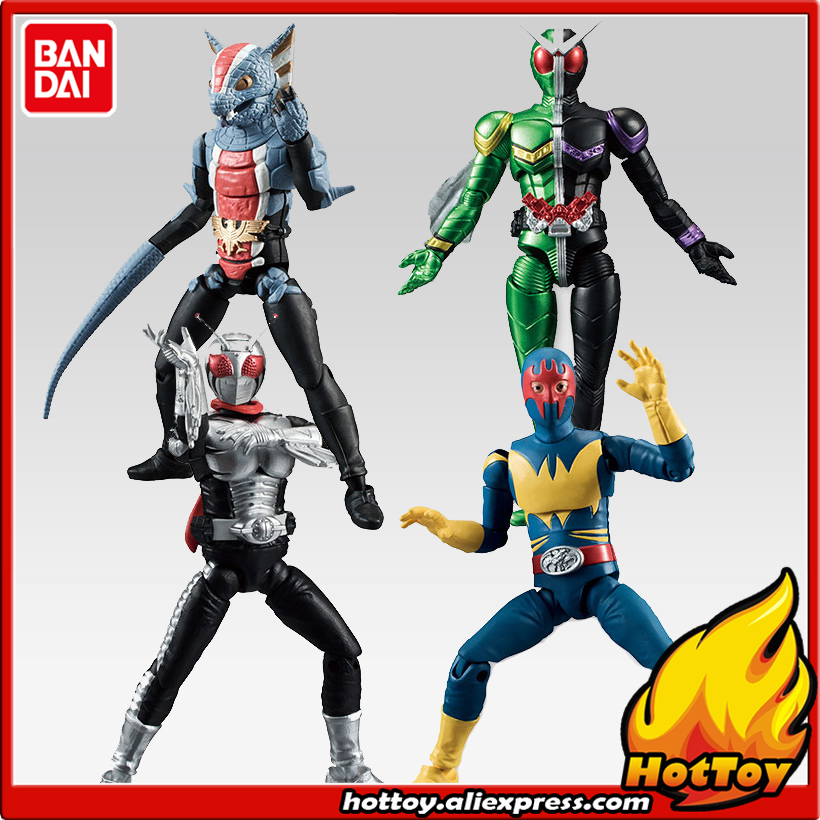 100% Original BANDAI Tamashii Nations SHODO VS vol.6 Action Figure - Kamen Rider VS6 Set of 4 Pcs dmz vol 12 five nations ny