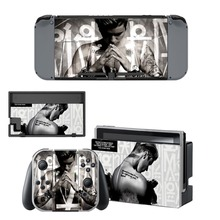 Nintend Switch Vinyl Skins Sticker For Nintendo Console and Controller Skin Set - Justin Bieber