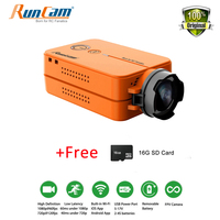 New RunCam 2 Ultra HD 1080P FPV Camera WiFi Link Camcorder For Racing Drone