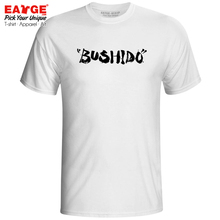 Japanese Bushido T Shirt Language Character Kanji Creative Anime Funny T-shirt Design Pop Style Unisex Men Women Tee