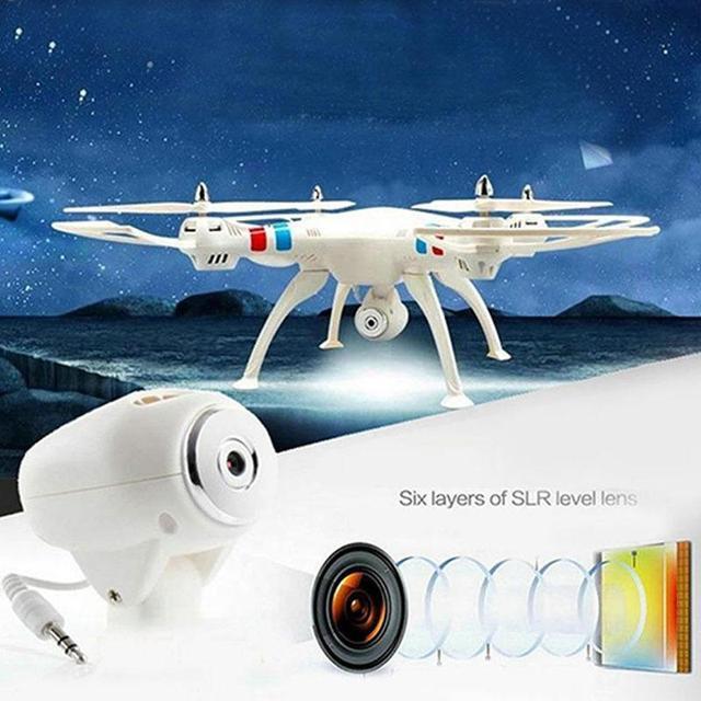 SYMA X8 X8W 2.4 GHz RC 6-Axis Drone WiFi FPV RC Helicóptero Quadcopter w/2.0MP Cámara VS Syma X8G X8HW X8HG