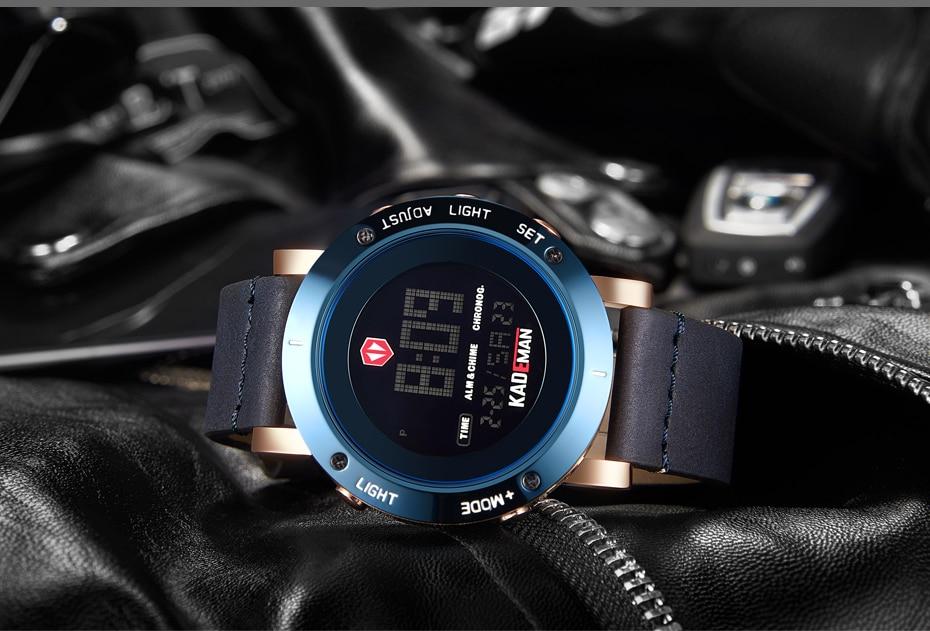 KADEMAN Army Military Luxury Brand Men's Watches Men Sports Watch Quartz Digital Clock Man Leather Wrist Watch Relogio Masculino (19)