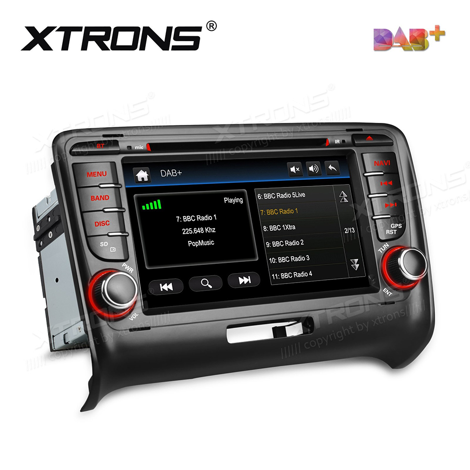 7 DAB+ Car Radio 2Din DVD Player GPS For Audi TT MK2 8J(2006-2012) Auto Nav 2 Din Bluetooth CANBus SD RDS Radios DAB FM Stereo car 2 din octavia android 7 1 7 inch car dvd for skoda octavia 2 a5 2006 2012 with 2g 16g wifi canbus octavia2 dab obd
