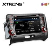 7 dab + Автомобильное Радио 2din dvd плеер GPS для Audi TT MK2 8j (2006 2012) авто NAV 2 DIN Bluetooth Canbus SD RDS Радио S DAB/FM стерео