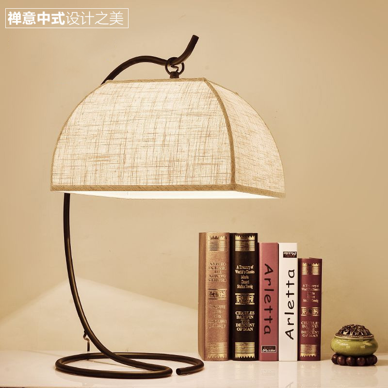 Lampada tavolo Tafellamp lamparas de mesa Modern Table Lamp Fabric Bedroom Bedside Lamp living room study desk lamp басовый усилитель ampeg svt 3pro