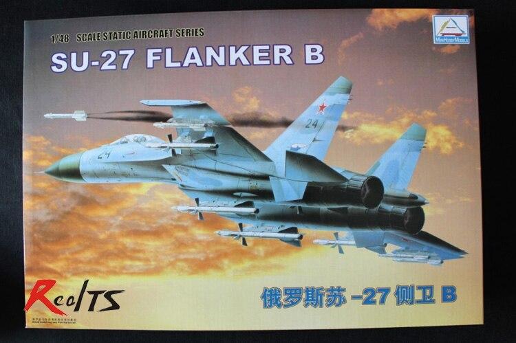 RealTS Trumpeter Minihobby 80305 1/48 SU-27 FLANKER B
