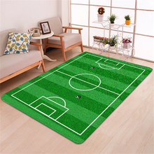 3D Football Area Rugs