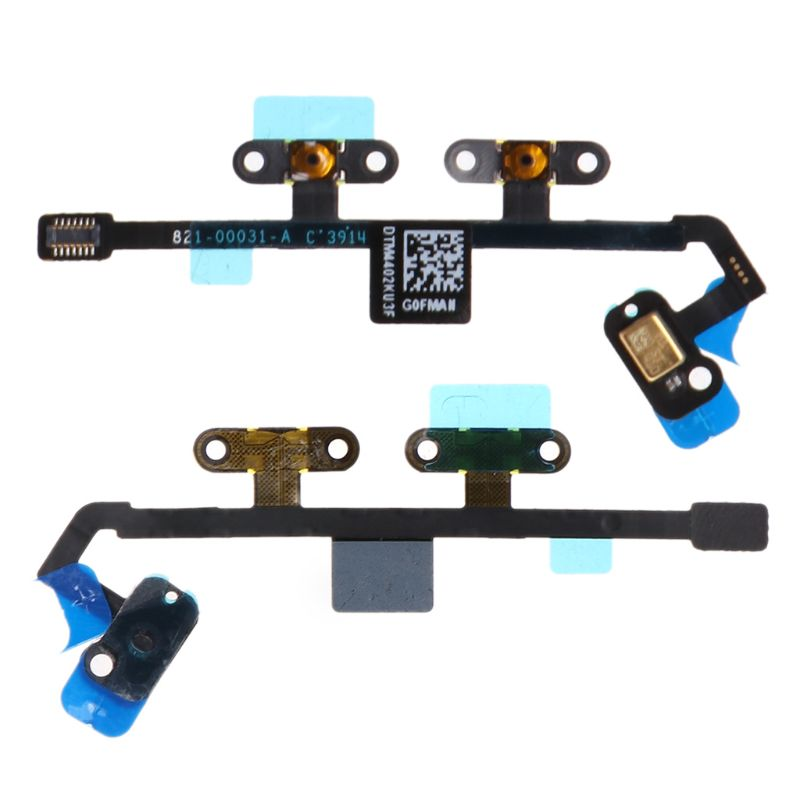 Ribbon Flex Cable Mute Volume Button Key Control Microphone Mic Replacement For Apple Ipad 6 Air 2 Dropshipping Consumer Electronics