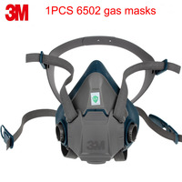 3M 6502 respirator mask Genuine security high quality respirator face mask With 6000/2000 series Anti virus dust mask