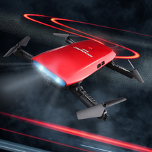 6-Axis Gyro WIFI FPV 720P HD Camera Selfie Drone Quad-copter Mini Portable Fold-able RC Drone Quad RTF G-sensor Toys