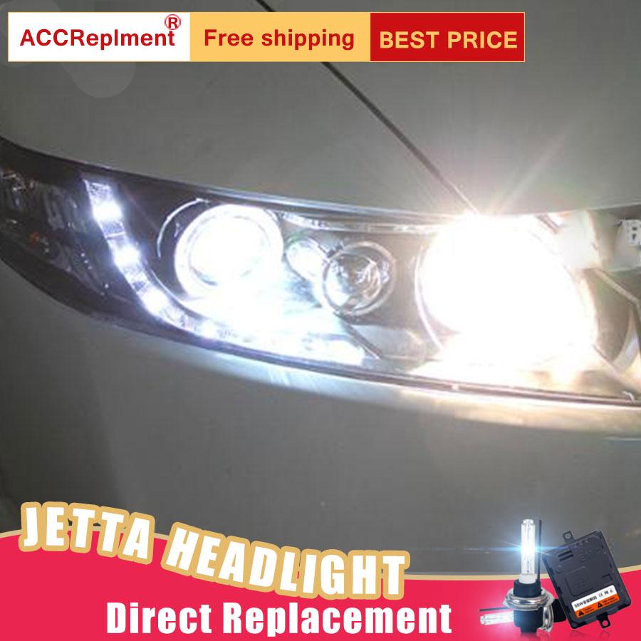 2 шт. светодиодный фары для Honda Civic 2007 2011 светодиодный огни автомобиля глаза ангела xenon HID комплект противотуманных фар светодиодный Габаритн