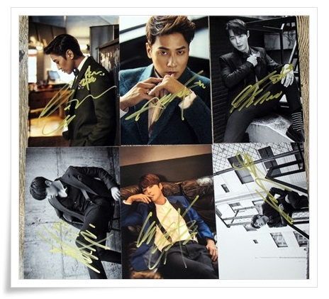 Shinhwa autographed signed group photo 6 photos set 10*15cm 4*6inches freeshipping new korean 01.2017 scissors 6 inch professional hair cutting scissors hairdressing salon barber shears dragon shaped handle