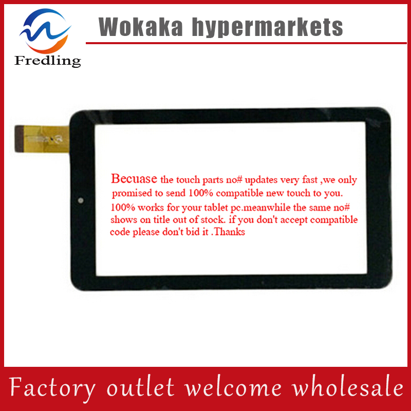 New 7 inch ZLD070038MQ72-F-A Replacement For Tricolor SatEllite GS700 Tablet Digitizer Touch Screen Panel Glass Free Shipping 9 7 inch tablet pc touch screen panel digitizer glass sensor replacement f wgj97119 f wgj97119 v2