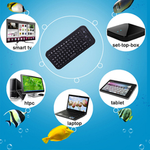 iPazzPort Mini bluetooth full QWERTY Keyboard professional design with Touchpad and Backlight for PC / Smart TV /Android TV Box