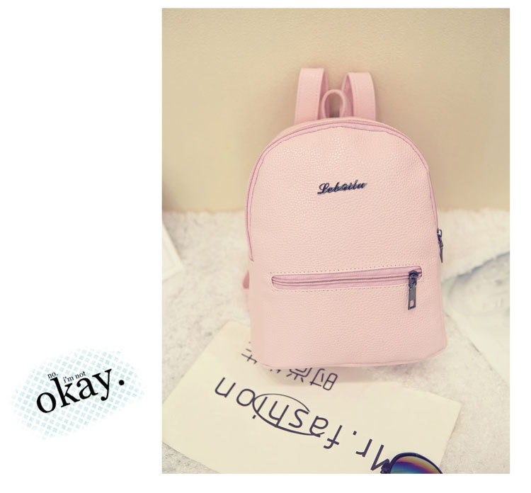 HTB1pIgbCASWBuNjSszdq6zeSpXaw 2019 New Backpack Summer Small Women Backpack Candy Color Student Travel Shoulder Bags Teenager Girls Female Mochila Bagpack
