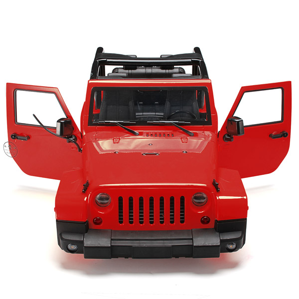 1 10 font b RC b font Remote Control Truck Hard Body Shell Canopy Rubicon Topless