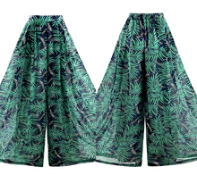 VERRAGEE 2019 summer bohemian Printed loosewide leg women pants retro holiday style long trousers chiffon pant