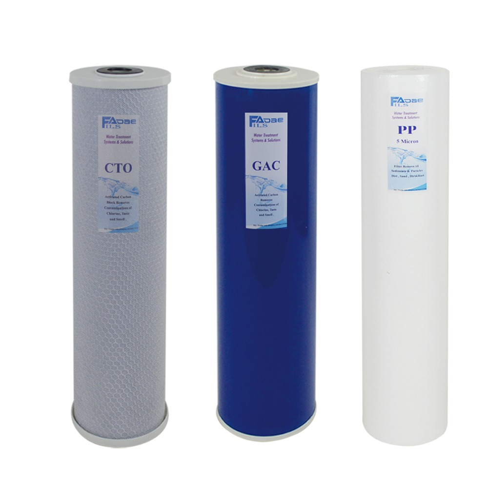 US $109 99 |Whole House Filteration System Replacement Filter kits 3 stage  PP Sediment, GAC & Carbon Block Filter 5 Micron 4 5