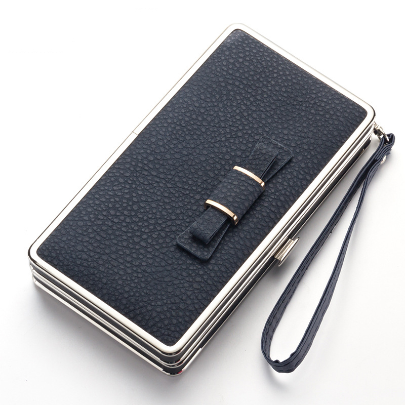 Women's Wallets Woman Leather Wallet Long Female Wristlet Clutch Purse Women Luxury Cute Coin Money Ladies Wallets PU 2017 Solid fashion luxury brand women wallets cute leather wallet female matte coin purse wallet women card holder wristlet money bag small