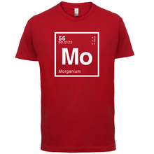 MORGAN Periodic Element - Mens T-Shirt Geeky / Chemistry 13 Colours Print T Shirt Short Sleeve Hot Tops Tshirt Homme