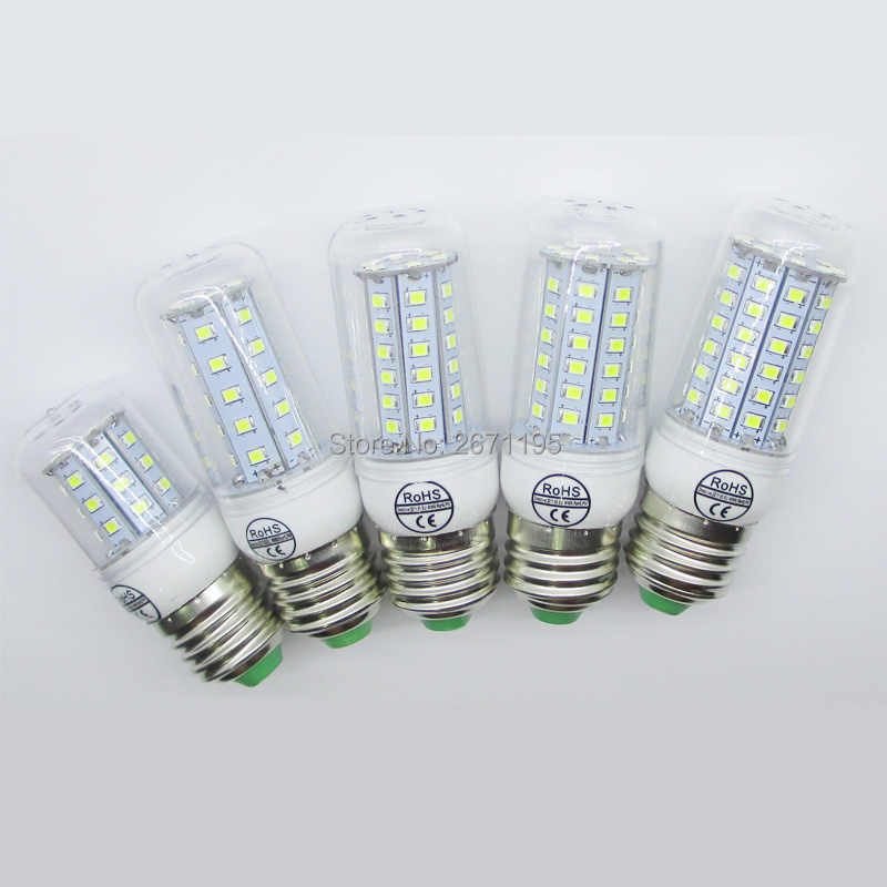 Bright Energy Saving E27 LED Lamp 220V E27 E14 LED Spot Light Bulb Home Lampadas Led 2835SMD Lampada E27 Lamp Bulb Spotlight