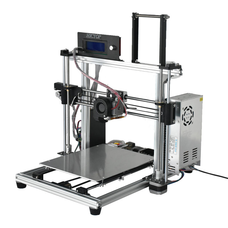 HICTOP Prusa i3 3d Aluminum Printer, with the Function of Auto Leveling, High Printing Speed 30-90mm/s