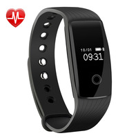 VicTsing Smart Wristband Heart Rate Monitor Band Fitness Bracelet Health Tracker Activity Pedometer For Android And