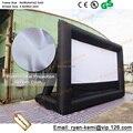 Envío libre pantalla de cine inflable pantalla de cine inflable inflable al aire libre pantalla del proyecto