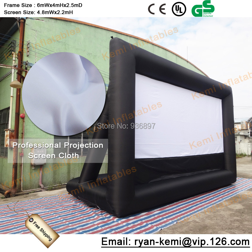 m003 free printing inflatable airtight screen inflatable billboard outdoor advertising airtight billboard Free shipping inflatable movie screen inflatable film screen outdoor inflatable project screen