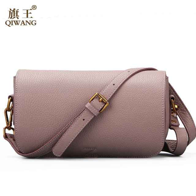 Full Grain Leather Bag Luxury Women Handbags Made In China 100 Genuine Shoulder