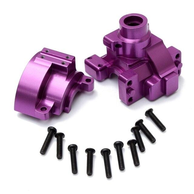 Фиолетовый Обновление Запчасти RC HSP 102075 Алюминиевый Коробка Передач с Винтом Для Redcat HSP 1:10 RC Гоночный Автомобиль