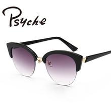 UV400 Protection Ladies Cat Eye font b Sunglasses b font Cool Vintage Sun Glasses Gradient Lens