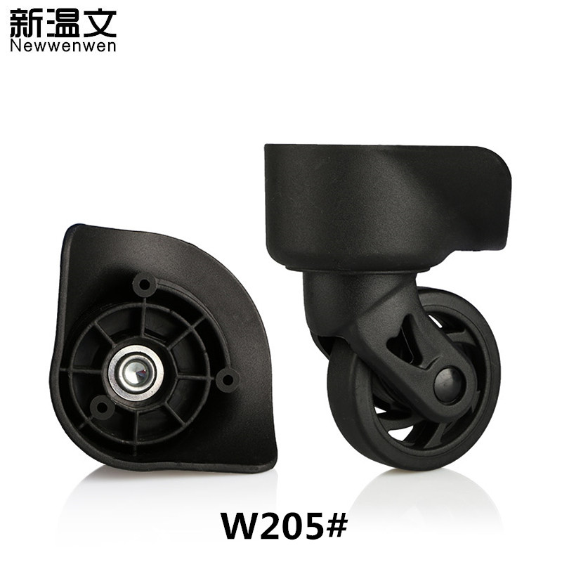 Suitcase Wheels Repair,luggage wheels parts,Spinner Wheels for Suitcases replacement wheels for luggage W205# new luggage replacement wheels suitcase repair replacement parts 360 spinner upright mute high quality wheels for suitcases 2pcs