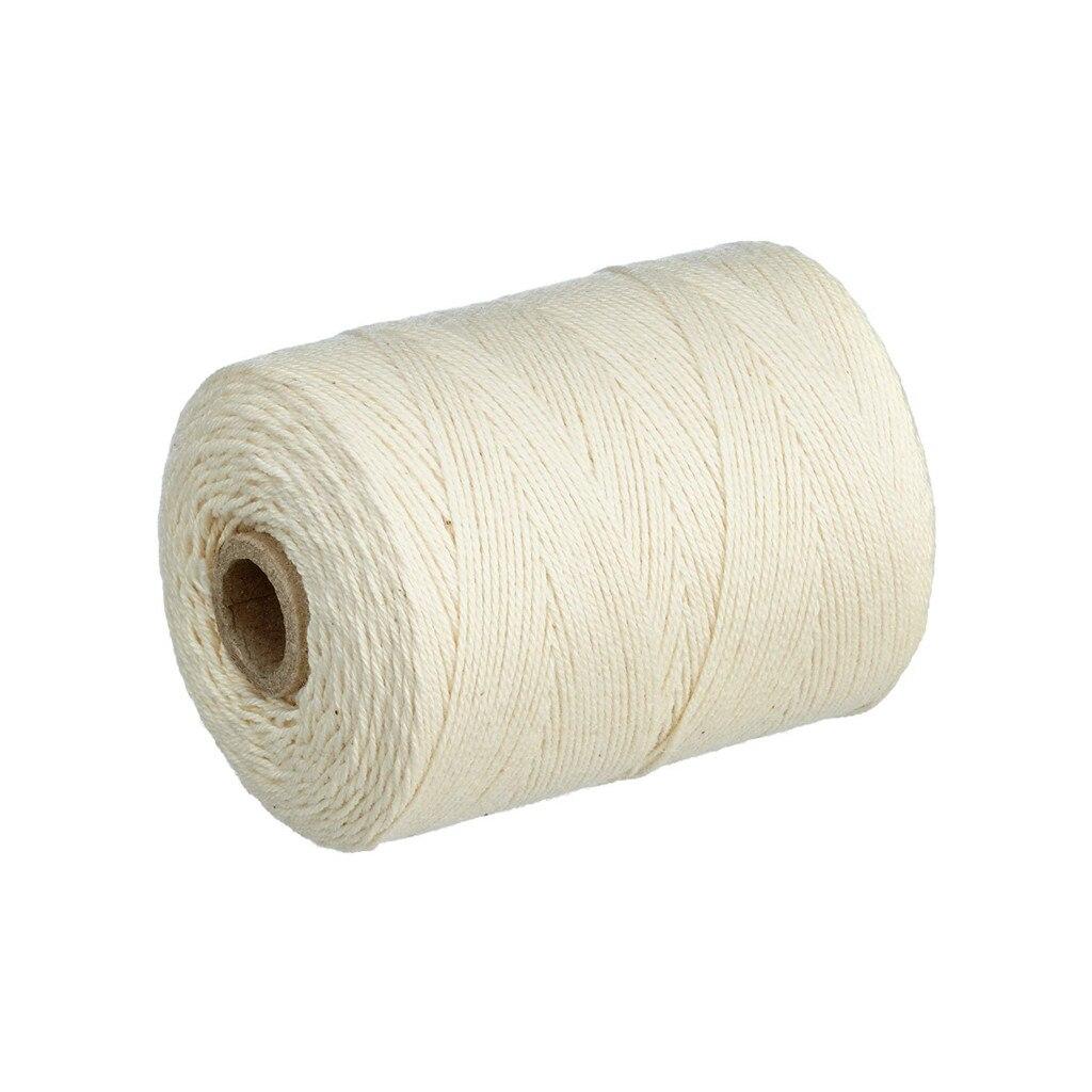 Ishowtienda 1mm X 220m Reis Weiß Solide Baumwolle Garn Macrame Baumwolle Schnur Für Wand Hängen Traum Catcher Dekoration handwerk