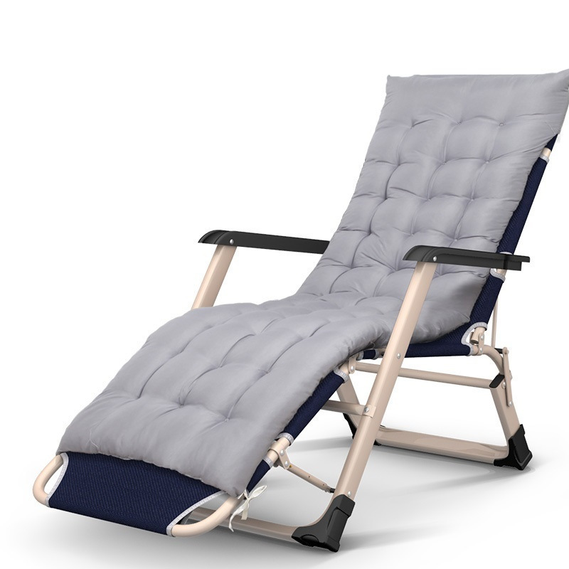 ZJ Afternoon rest treasure on sides of the tube folding cr office nap beach simple single bed Chaise Lounge beauty rest folding office cr nap lying simple beach bed chaise lounge