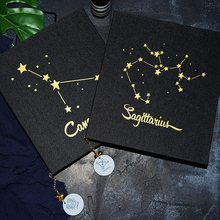 2018 new denim cover film covered constellations DIY handmade albumthis paste-up lovers romantic valentines day gift album