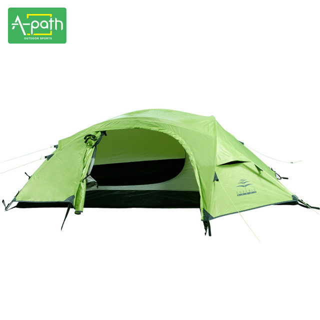 1 Person Waterproof 5000mm Tourist 4 Season Winter Tents Outdoors Luxury Camping Tents Single Pole Gear Event FoldingTent